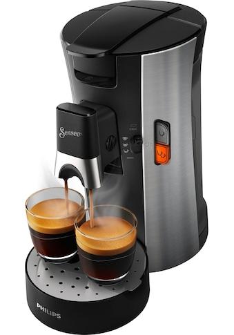 Senseo Kaffeepadmaschine »SENSEO® Select CSA250/10«, 80 Pads & Paddose gratis bei Registrierung kaufen