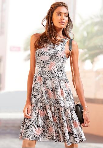 Buffalo Jerseykleid, mit Alloverdruck kaufen