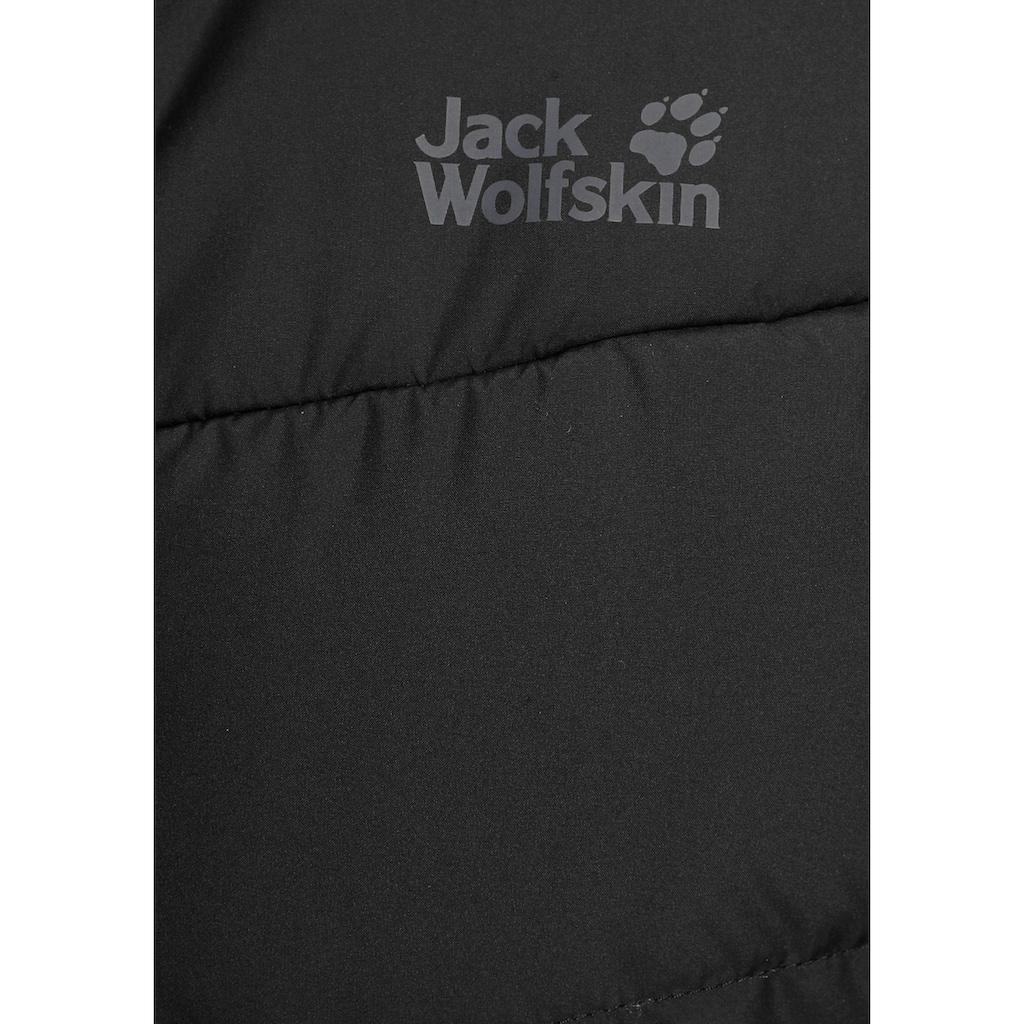 Jack Wolfskin Steppmantel »LARVIK«, bis Gr. 56 erhältlich