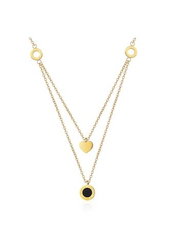 AILORIA Kette mit Anhänger »ALINE Halskette Gold«, Hochglanz-Finish kaufen