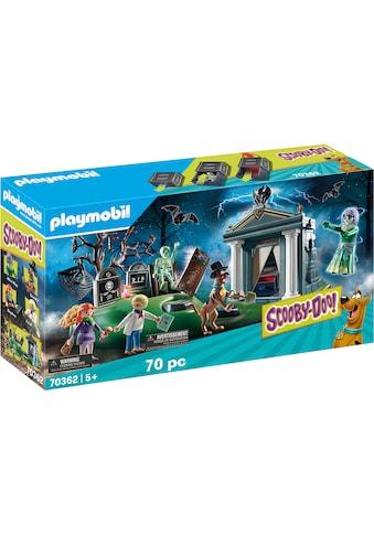 """Playmobil® Konstruktions - Spielset """"SCOOBY - DOO! Abenteuer auf dem Friedhof (70362), SCOOBY - DOO!"""", Kunststoff kaufen"""