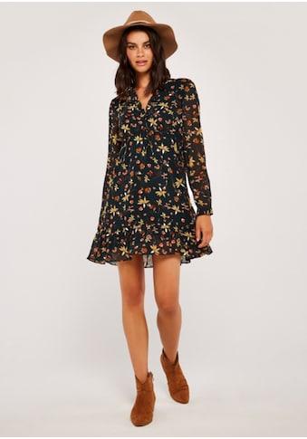 Apricot Druckkleid »Autumn Floral Chiffon Dress« kaufen