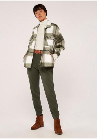 Apricot Blusenjacke »Check Button Down Shacket«, mit aufgesetzten Taschen kaufen
