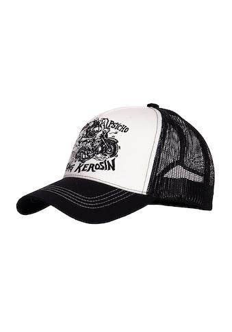 KingKerosin Trucker Cap »Motorpsycho«, mit kontrastierender Stickerei kaufen