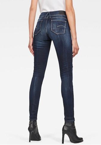 G - Star RAW Skinny - fit - Jeans »Lynn Mid Waist Skinny« kaufen