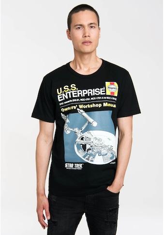 LOGOSHIRT T-Shirt mit tollem Frontdruck kaufen