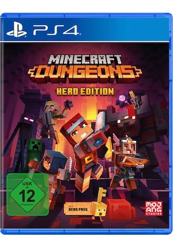 Spiel »Minecraft Dungeons - Hero Edition«, PlayStation 4 kaufen