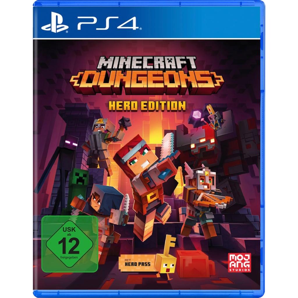 Spiel »Minecraft Dungeons - Hero Edition«, PlayStation 4