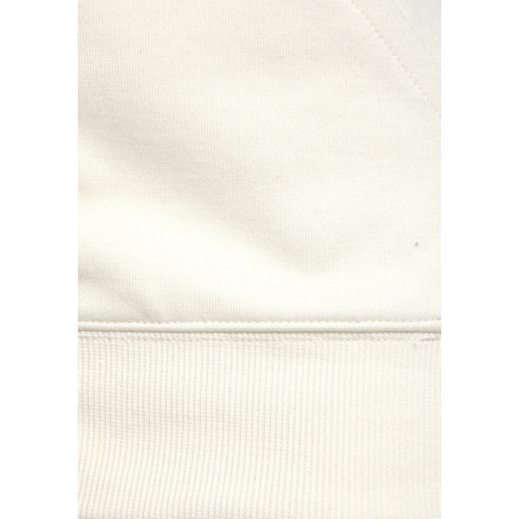 Bench. Sweatjacke, mit Seitenstreifen und Stehkragen