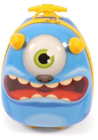 CHIC2000 Kinderkoffer »Bouncie, Monster«, 2 Rollen, Hartschalen-Trolley kaufen