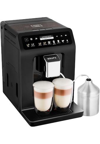 Krups Kaffeevollautomat »EA8948 Evidence Plus One-Touch-Cappuccino«, Platzsparend mit vielen technischen Innovationen und Bedienungshighlights kaufen