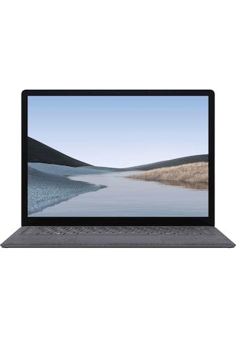 "Microsoft Surface Laptop 3 13,5"" – 8GB / 128GB i5 Platin Grau Notebook (34 cm / 13,5 Zoll, Intel,Core i5, 128 GB SSD) kaufen"