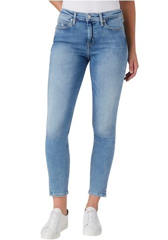 Calvin Klein Jeans Skinny-fit-Jeans »MID RISE SKINNY ANKLE«, mit kleinem Schlitz innen... kaufen