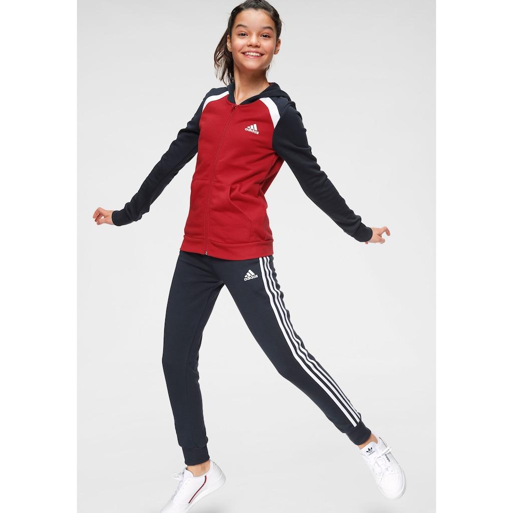 adidas Performance Trainingsanzug »HOODED COTTON«, (Set, 2 tlg.)