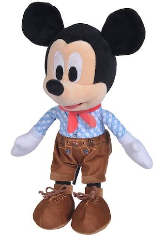 SIMBA Kuscheltier »Disney, Lederhosen Mickey, 25 cm« kaufen