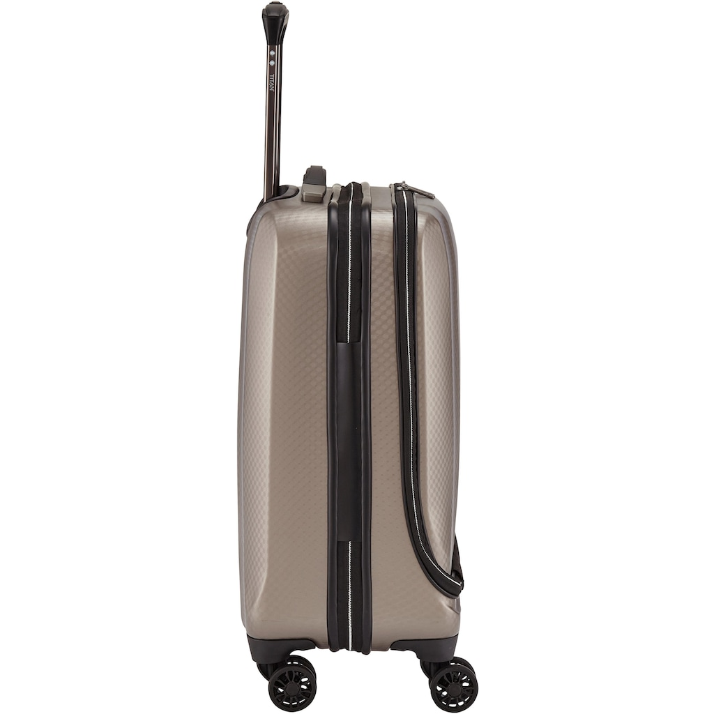 "TITAN® Business-Trolley ""Xenon Deluxe, 55 cm, Champagne"", 4 Rollen"