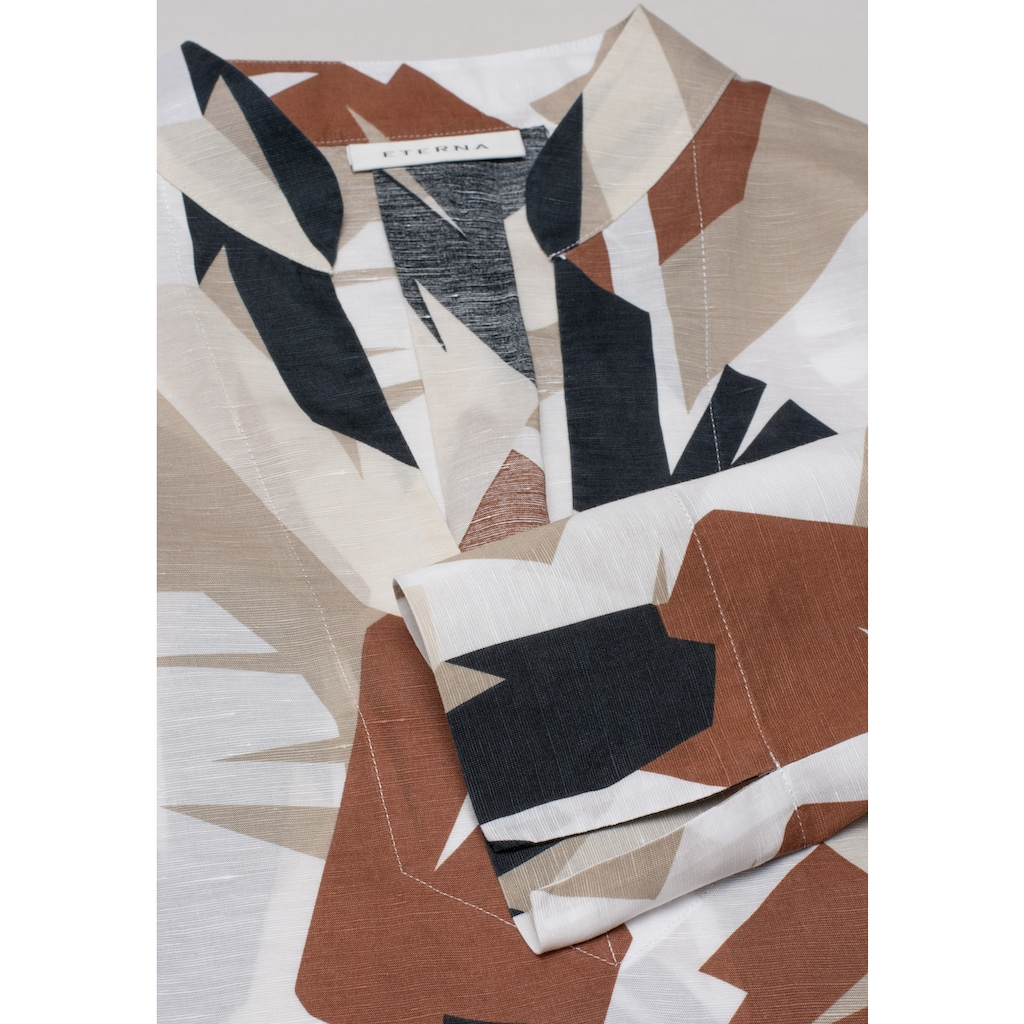 Eterna Klassische Bluse »MODERN CLASSIC«, mit Grafik-Print
