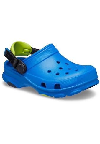Crocs Clog »Bright Cobalt Classic All-Terrain Clog K«, mit kontrastfarbenem Fersenriemen kaufen