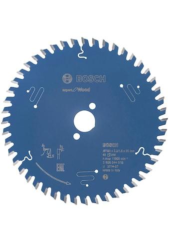 Bosch Professional Kreissägeblatt »Expert for Wood, 160 x 20 x 2,2 mm, 48«, 160 x 20 x... kaufen