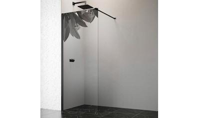 welltime by GEO Walk-in-Dusche, 90 cm, schwarz kaufen