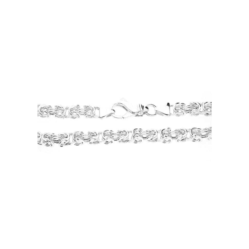 Firetti Königsarmband, quadratisch / poliert / halbmassiv