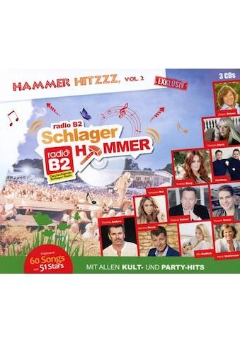 Musik-CD »SchlagerHammer-Hammer Hitzzz,Vol.2 / Various« kaufen