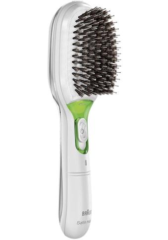 Braun Haarglättbürste »Satin Hair 7 IONTEC BR750«, Ionen-Technologie, mit natürlichen Borsten und Ionentechnologie zur Förderung des Glanzes kaufen