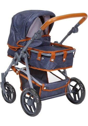 Knorrtoys® Kombi-Puppenwagen »Juna, dark blue« kaufen