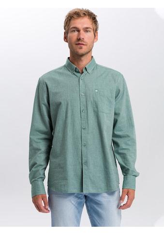 Cross Jeans® Langarmhemd »35369«, Button Down Hemd kaufen