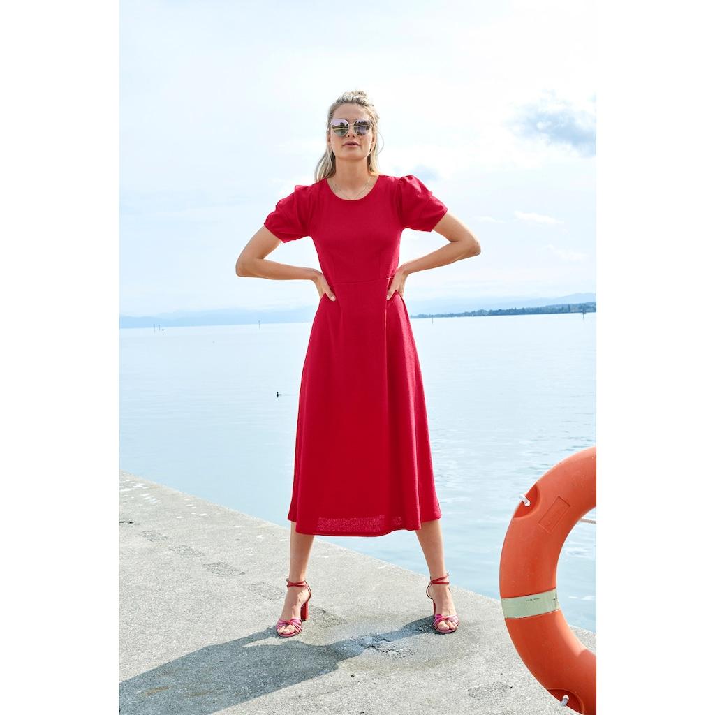Aniston CASUAL Jerseykleid, in Crash-Optik - NEUE KOLLEKTION