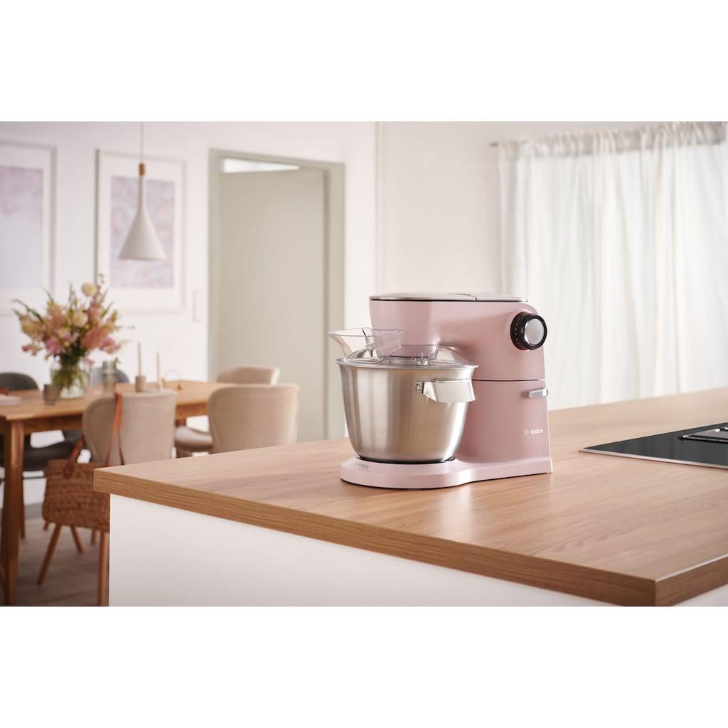 BOSCH Küchenmaschine »MUM9A66N00 OptiMUM«, Profi-Patisserie-Set, Planetenrührwerk, pastelrosé