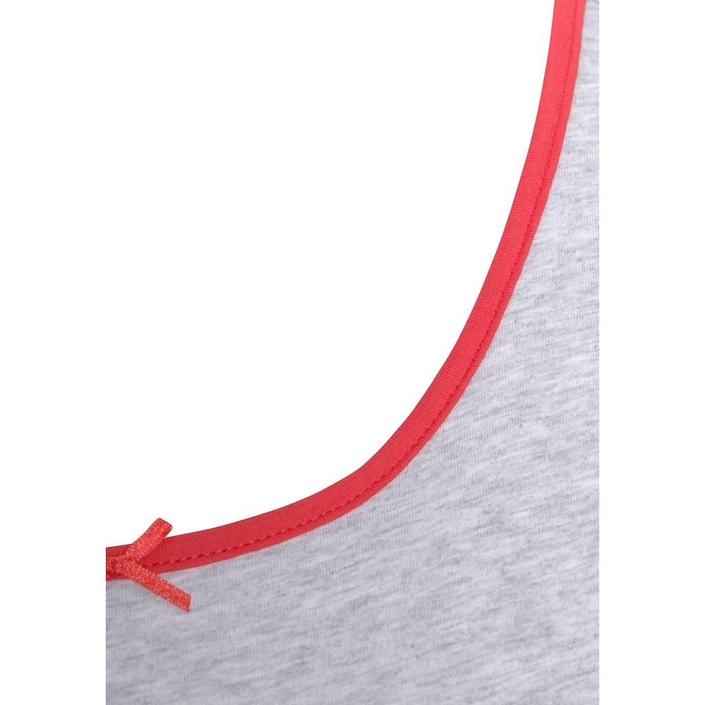 Peanuts Nachthemd, mit Snoopy-Print und kleiner Schleife