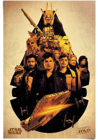 Reinders! Poster »Solo: A Star Wars Story Millenium Falcon Collage«, (1 St.) kaufen