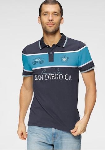 TOM TAILOR Polo Team Poloshirt, mit Streifen kaufen