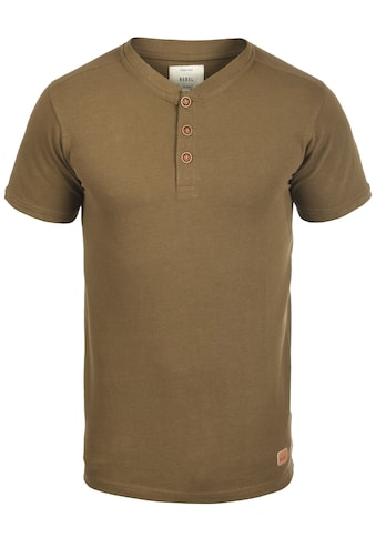 REDEFINED REBEL Rundhalsshirt »Mulligan«, Kurzarmshirt mit Knopfleiste kaufen