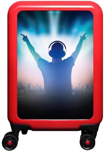 meinTrolley Hartschalen-Trolley »Musik DJ, 55 cm«, 4 Rollen, Made in Germany kaufen