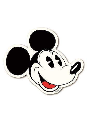 LOGOSHIRT Magnet mit klassischer Mickey Mouse - Silhouette kaufen