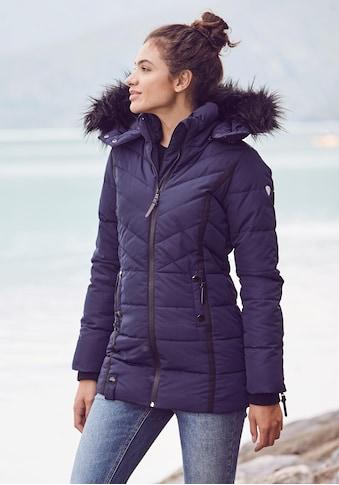 ALPENBLITZ Winterjacke »Pistenglück«, hochwertige Steppjacke m. voluminöser... kaufen
