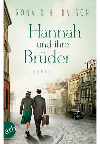 Buch »Hannah und ihre Brüder / Ronald H. Balson, Gabriele Weber-Jaric« kaufen