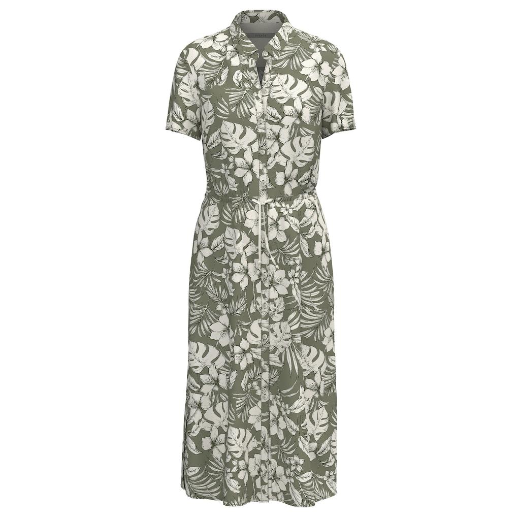 bianca Hemdblusenkleid »DORINE«, durchgeknöpft mit sommerlichem Jungle-Print