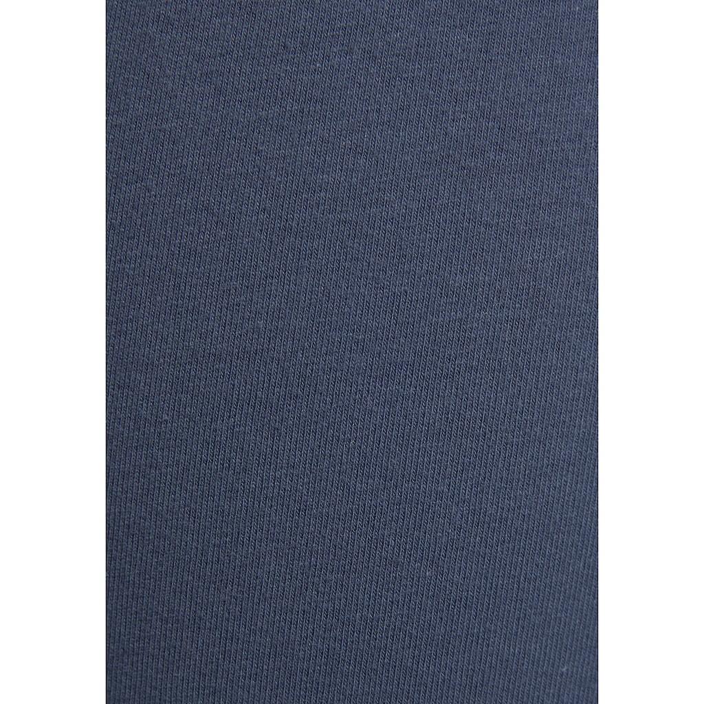 Bench. Leggings »Tricolore«, mit Seitenstreifen und Logostickerei