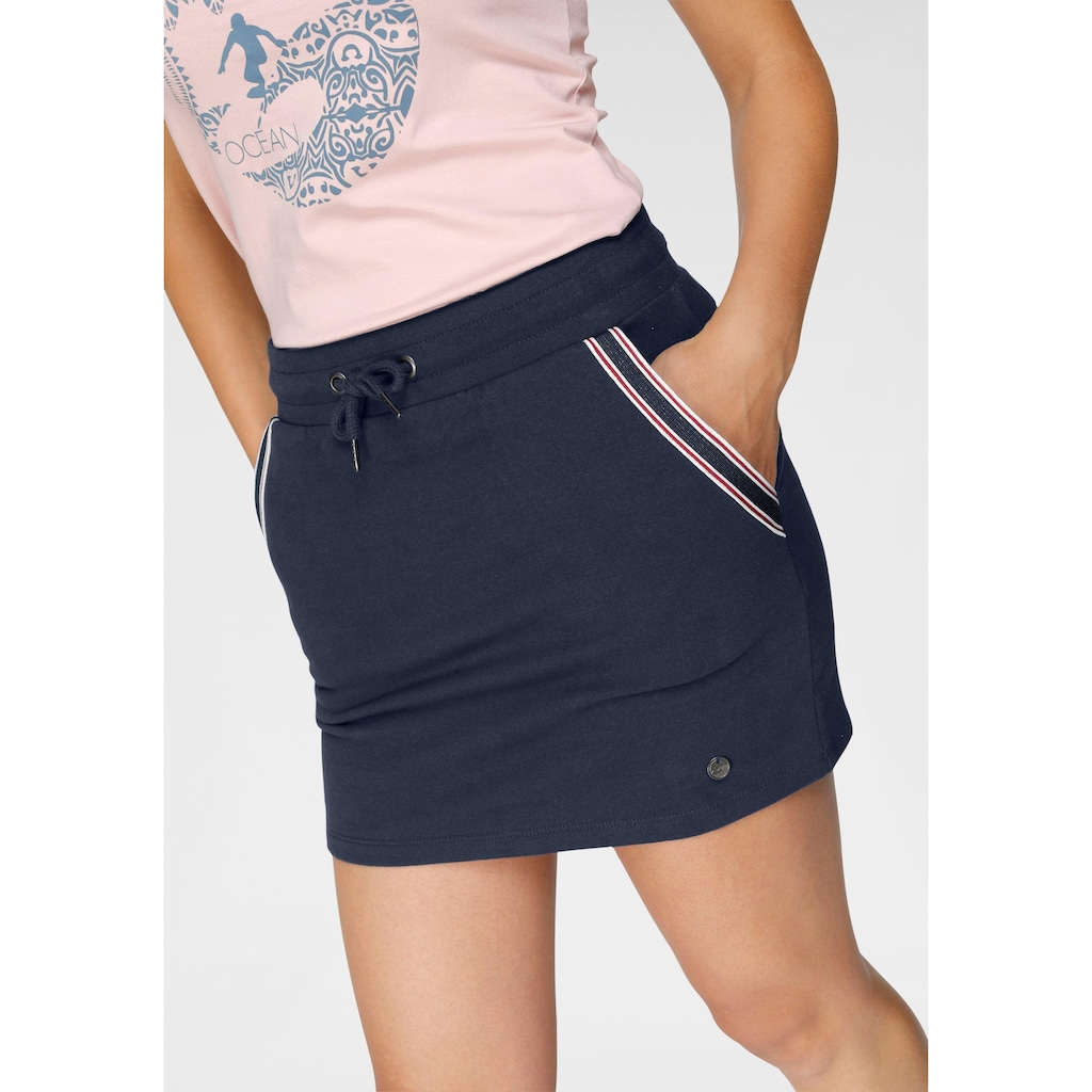 Ocean Sportswear Sweatrock, mit Tapestreifen