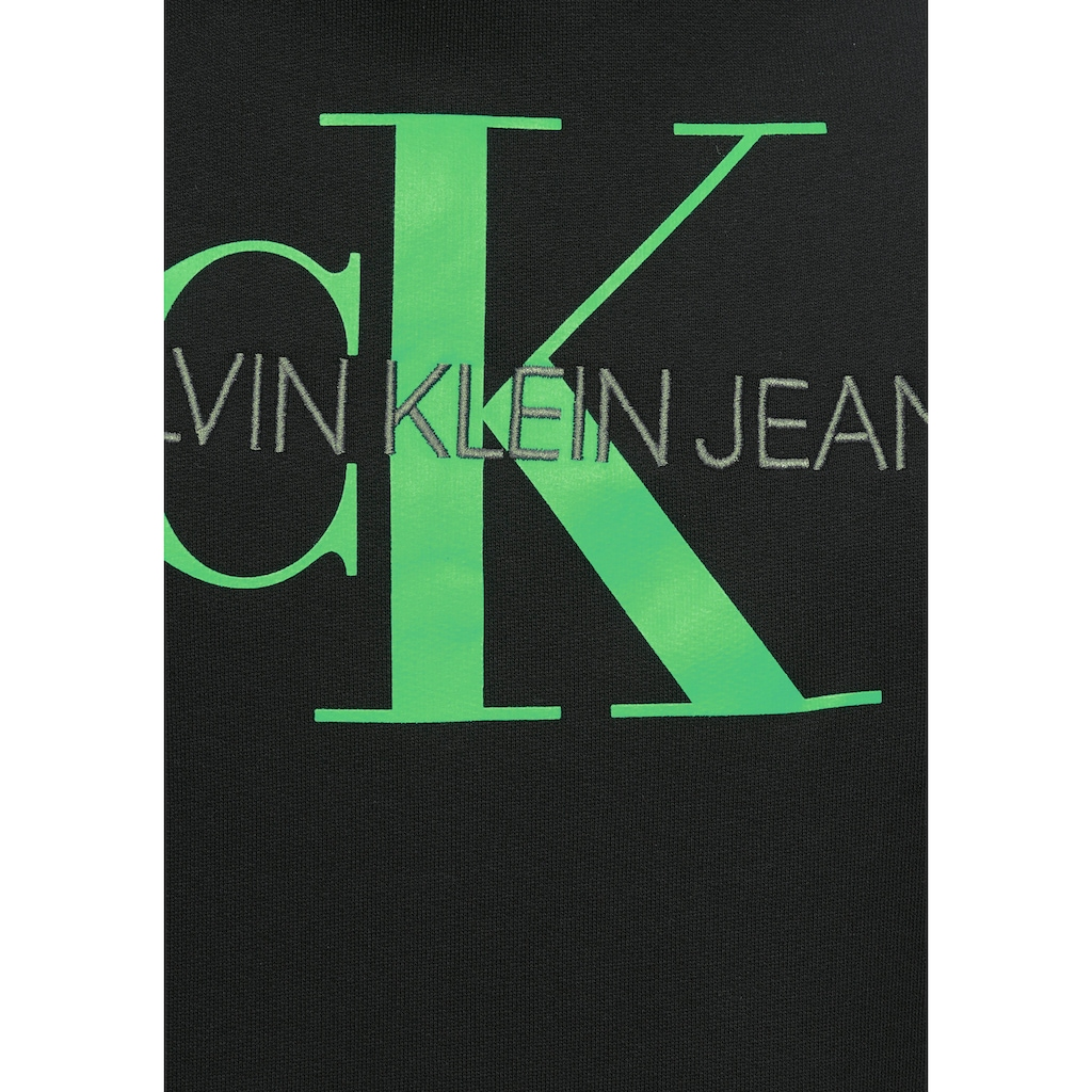 Calvin Klein Jeans Kapuzensweatshirt »MONOGRAM REGULAR HOODIE«