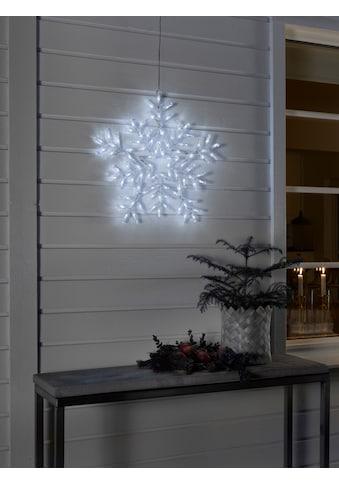 KONSTSMIDE LED Acryl Schneeflocke, mit vielen Funktionen kaufen