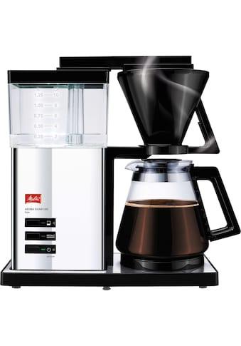 """Melitta Filterkaffeemaschine »Aroma Signature Deluxe """"Style"""" 100704«, Papierfilter, 1x4 kaufen"""