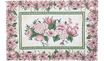 SPRÜGEL Platzset »Rose im Rahmen«, (Set, 4 St.), Gobelin kaufen