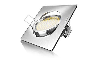 Brandson schwenkbarer LED Einbaustrahler in Edelstahl Optik »Deckenspot mit 320 Lumen... kaufen