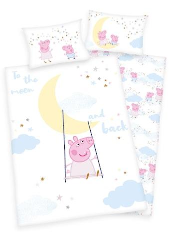 Babybettwäsche »Peppa Pig«, mit niedlichem Peppa Pig-Motiv kaufen