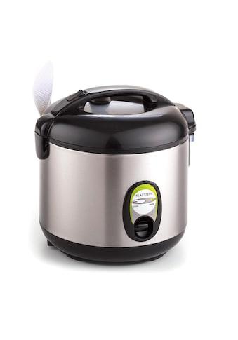 Klarstein Reiskocher 1 Liter Warmhaltefunktion Edelstahl mit Reislöffel »Sapporo« kaufen