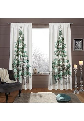 Vorhang, »Tannenbaum«, my home, Stangendurchzug 1 Stück kaufen